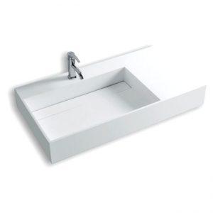lavatório pousar counter 90