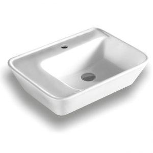 lavatório suspenso/de pousar