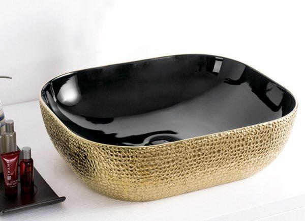 lavatório-pousar-skin-gold-black