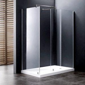resguardo de duche | Donna - Vidro Gris