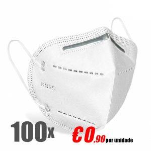 Mascara de proteção FFP2 KN95
