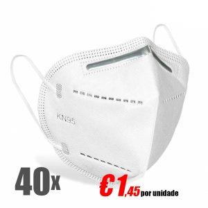 Máscara de proteção FFP2 - KN95